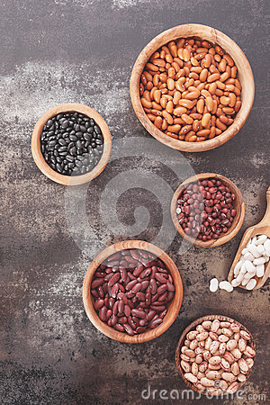 Free Dried Beans Stock Image - 66190951