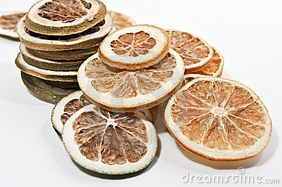 Dried citrus fruits