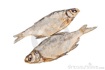 The dried fish