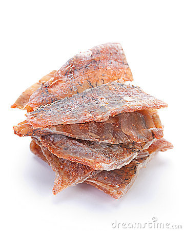 Dried fish snack