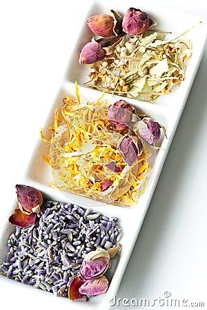 Free Dried Flower Potpourri Aromatherapy Royalty Free Stock Photography - 9158397