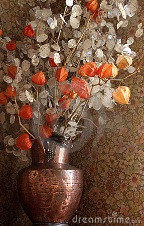 Free Dried  Flowers In A Vase Stock Photos - 17327263