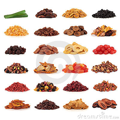 Free Dried Fruit Collection Royalty Free Stock Image - 15169206