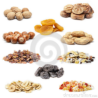 Free Dried Fruit Collection Royalty Free Stock Images - 38889919