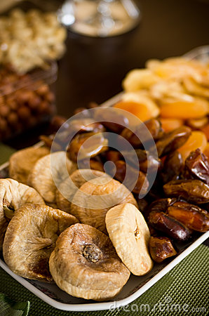 Free Dried Fruit Still Life Royalty Free Stock Image - 40506016