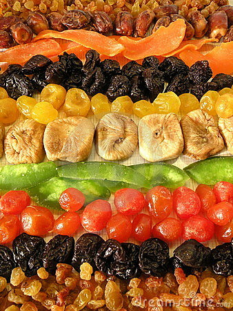 Free Dried Fruits Royalty Free Stock Image - 18580246