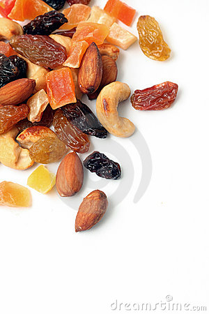 Free Dried Fruits And Nuts Stock Images - 17180014
