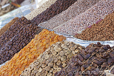Dried Fruits from Marrakech Medina