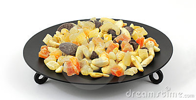 Dried Fruits, Nuts, Chocolate Mix