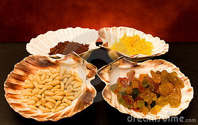 Dried Fruits And Spices