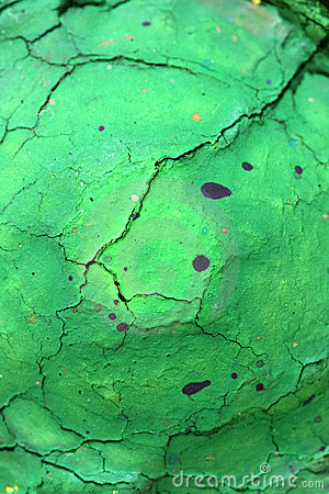 Dried green water color painting texture
