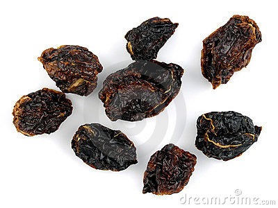 Dried habanero chilis
