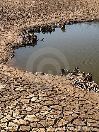 Free Dried Lake Bed Stock Images - 64194