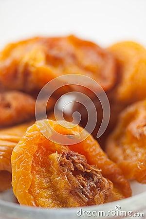 Dried Peaches Vertical