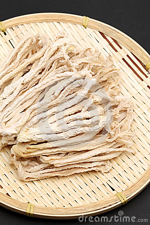 Dried radish slice