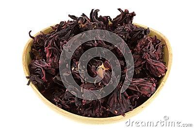 Dried Roselle Flowers (Hibiscus sabdarrifa)
