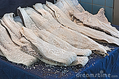 Dried salted cod stock photo image 48447406 for Where to buy salted cod fish