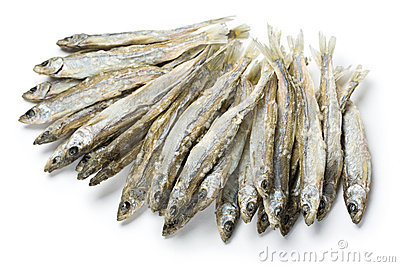 Dried salted sprat