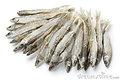 Dried salted sprat