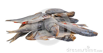 Dried salty fishes