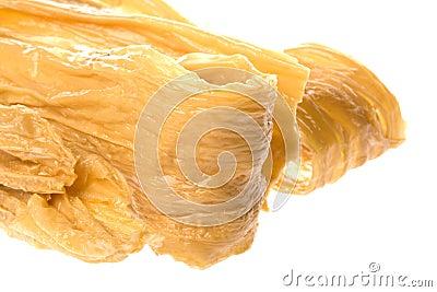 Dried soya bean curd strips