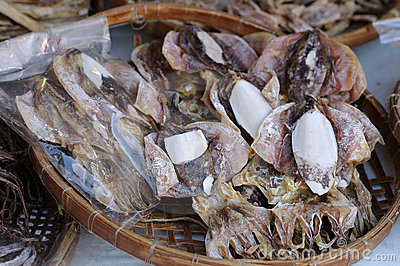 Dried squid