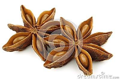 Dried star anise  (Illicium verum)