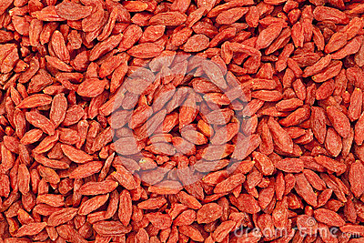 Dried Tibetan goji berries