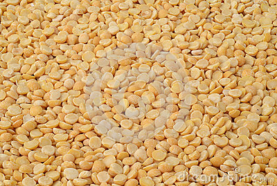Dried yellow peas