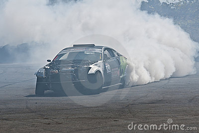 Drift car Editorial Stock Photo