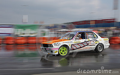 Drift King of Europe championship-Cluj Napoca Editorial Stock Image