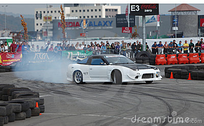 Drift King of Europe championship-Cluj Napoca Editorial Stock Photo
