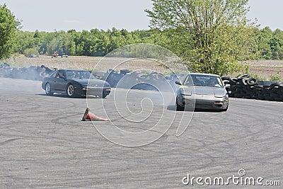 Drift racing Editorial Image