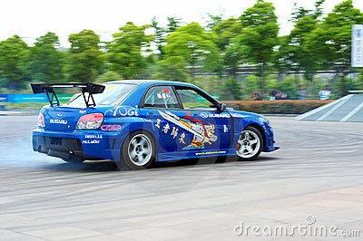 Drift Show Editorial Photography