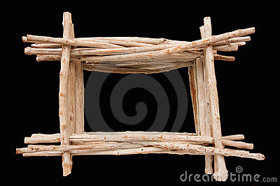 driftwood frame stock photo image 45134759