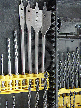 Free Drill Bits Stock Photos - 12076643