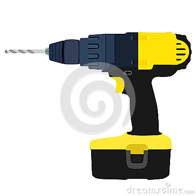 Free Drill Driver Royalty Free Stock Photo - 61813935