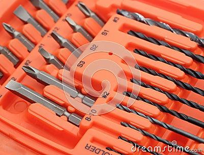 Drill and screw bits