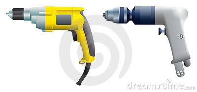 Drill and screwdriver