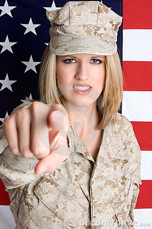 Free Drill Sergeant Stock Photography - 5984172