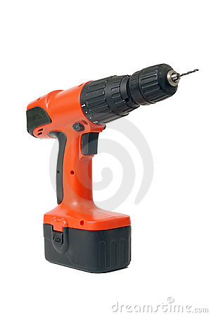 Free Drilling Machine With Drill Stock Photos - 1716873
