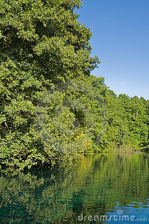Drim River Scene