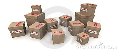 Dringende Pakete