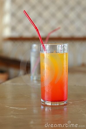 The drink