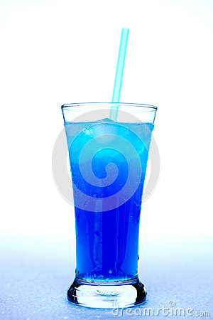 Free Drink Blue Royalty Free Stock Photos - 30292328