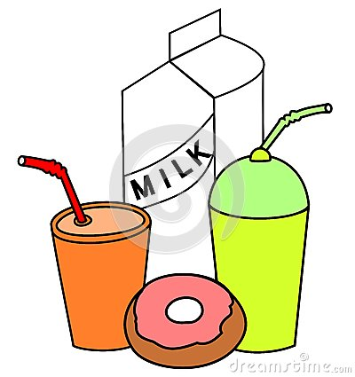 Drink and food clipart