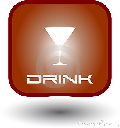 Drink and Food Glow Button