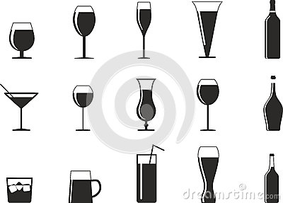 Drink glasses