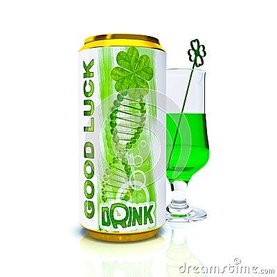 Drink good luck