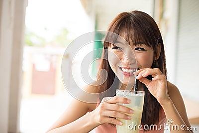 Drinking beverage